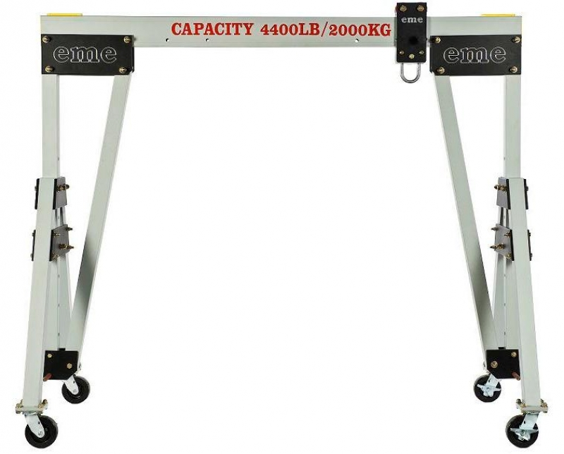 Eme Manufactures The Worldu0027s Finest Aluminum Gantry Cranes U2013 Lightweight,  Strong, Easy To Assemble, Easy To Move Under Full Rated Load, And Safe U2013  Complete ...