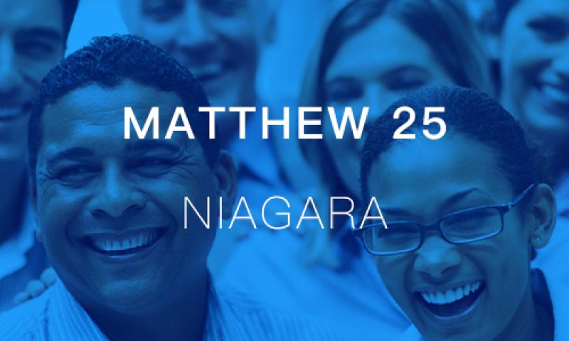 Matthew 25 Niagara