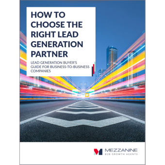How To Choose The Right Lead Generation Partner #1